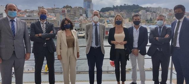 Presentación proyecto 5G en el Puerto de Vigo.