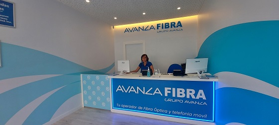 Tienda de Avanza Fibra en Villajoyosa (Alicante).