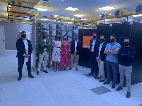 Inauguración del nuevo CPD de Orange en Santander