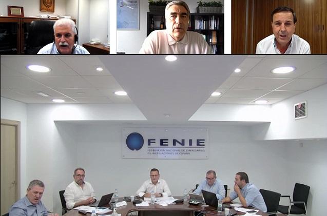 Fenie recalca la importancia de los fondos europeos para los instaladores.