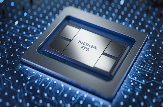 Nokia FP5, silicio de enrutamiento de quinta generación para redes IP.