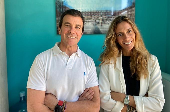 Gonzaga Avello y Sofía Medem, fundadores de Connecting Visions