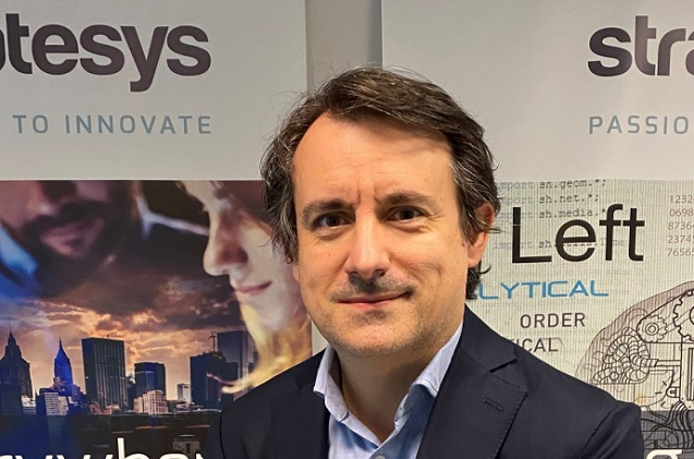 Iñaki Olondo, director de la oficina de Stratesys en Bilbao.