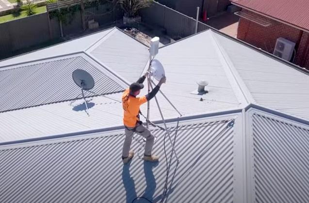 Instalaciones de equipos de Cambium Networks en Perth (Australia).