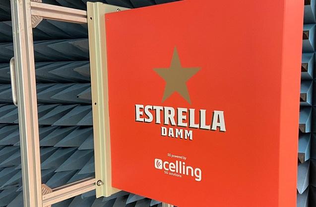 La Antigua Fábrica Estrella Damm suena al ritmo de 5G.