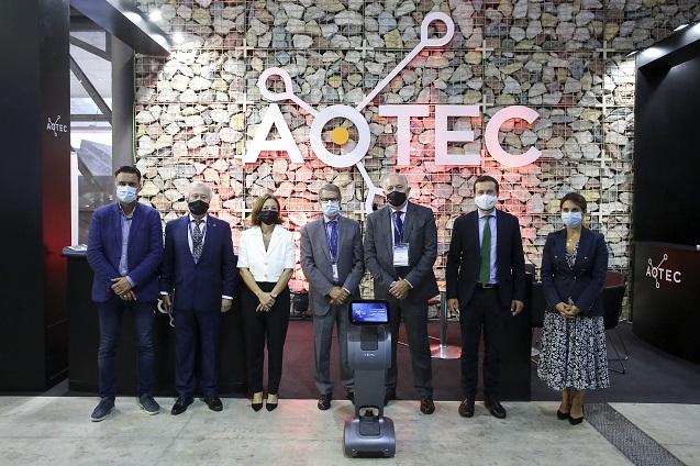 Clausura de XIV Feria Tecnológica Aotec.