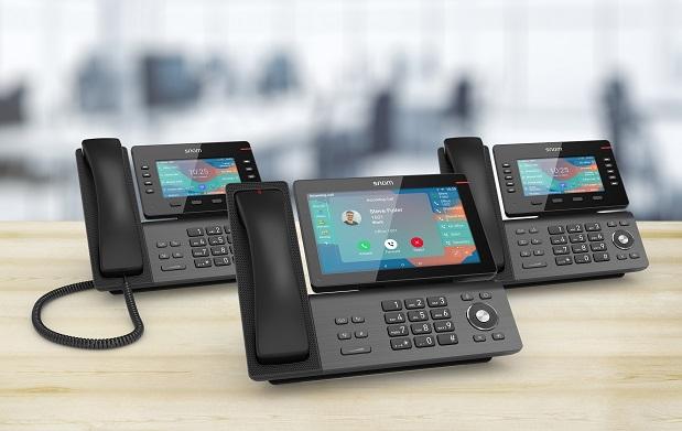 Snom presenta su nueva serie de terminales IP D8xx.