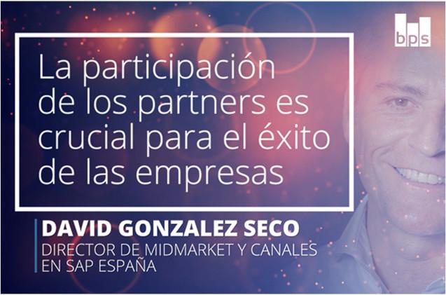 David González Seco, director de midmarket y canales de SAP España