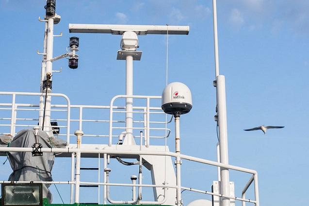 Banda ancha satelital, aliada de la flota pesquera española.