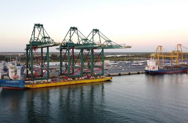 Primer nodo de innovación Fiware portuario mundial en Huelva.