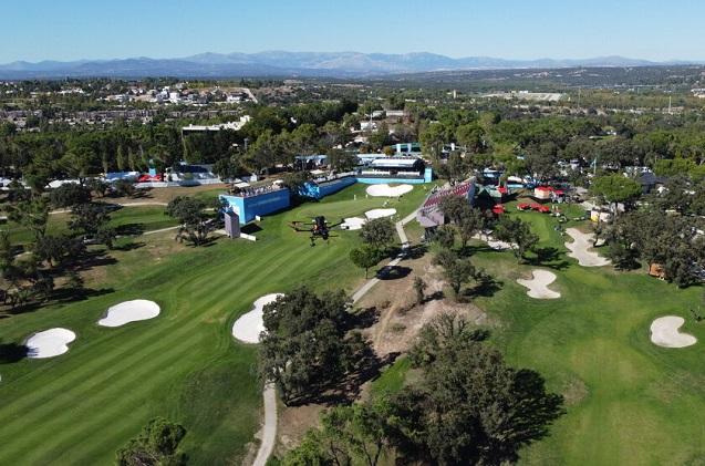 Acciona Open de España, primer torneo de golf profesional con 5G dedicada.