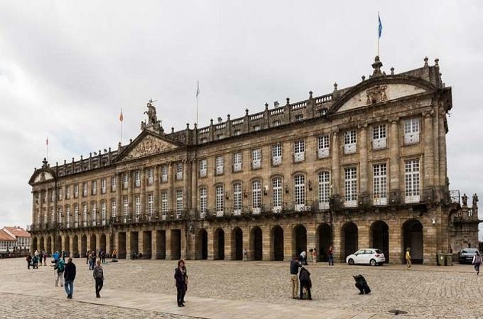 Sede de la Xunta de Galicia, Santiago de Compostela.