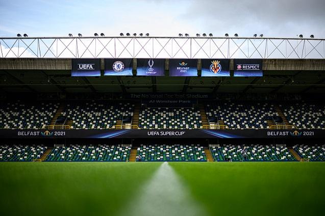 El Estadio Windsor Park de Belfast se cubre de Wi-Fi.