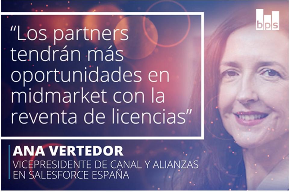 Ana Vertedor, vicepresidente de canal y alianzas en Salesforce España