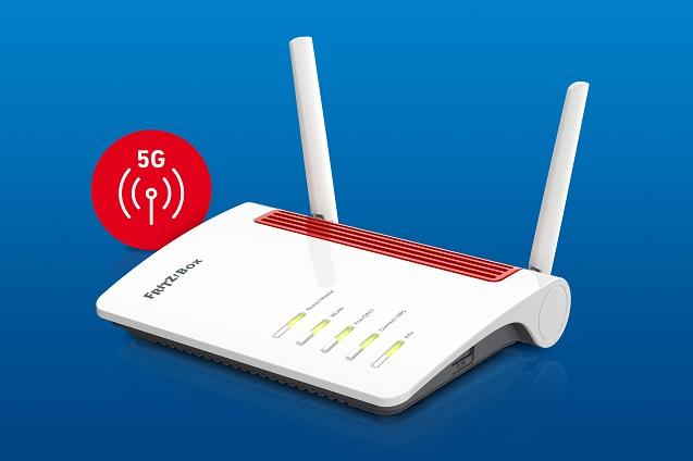 FritzBox 6850 5G: router 5G con Wi-Fi Mesh, telefonía y domótica