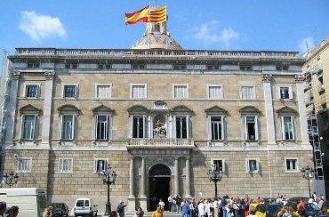Palau de la Generalitat, en Barcelona.