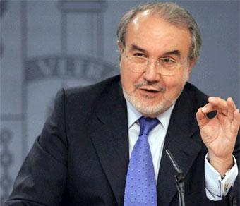 Pedro Solbes cuando estaba en el Gobierno.