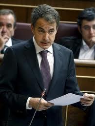 El expresidente del Gobierno Zapatero.