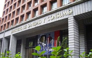 Ministerio de Sanidad, en Madrid.