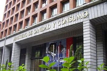 Sede el Ministerio de Sanidad en Madrid.