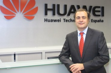 Carlos Delso, director de canal de Huawei Enterprise.