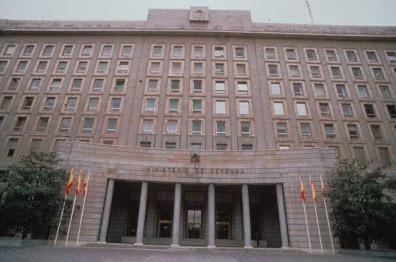 Ministerio de Defensa, en Madrid.