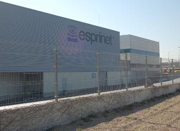 Almacén de Esprinet en Zaragoza.