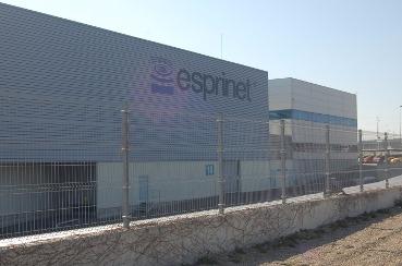 Instalaciones de Esprinet en Zaragoza.