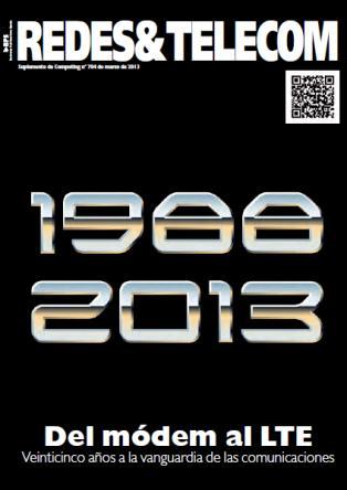 RedesTelecom marzo 2013. Especial 25 aniversario
