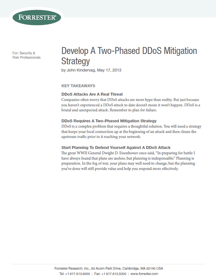 Ataques DDoS, cómo desarrollar una estrategia para mitigarlos