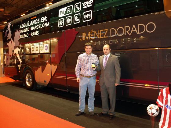 Aditium y Autocares Jiménez Dorado