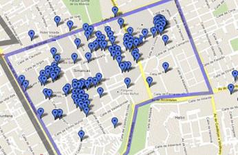 mapa de empresas que conforman Silicon Alley