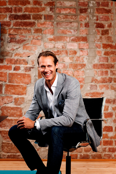 Jacob de Geer, CEO de iZettle