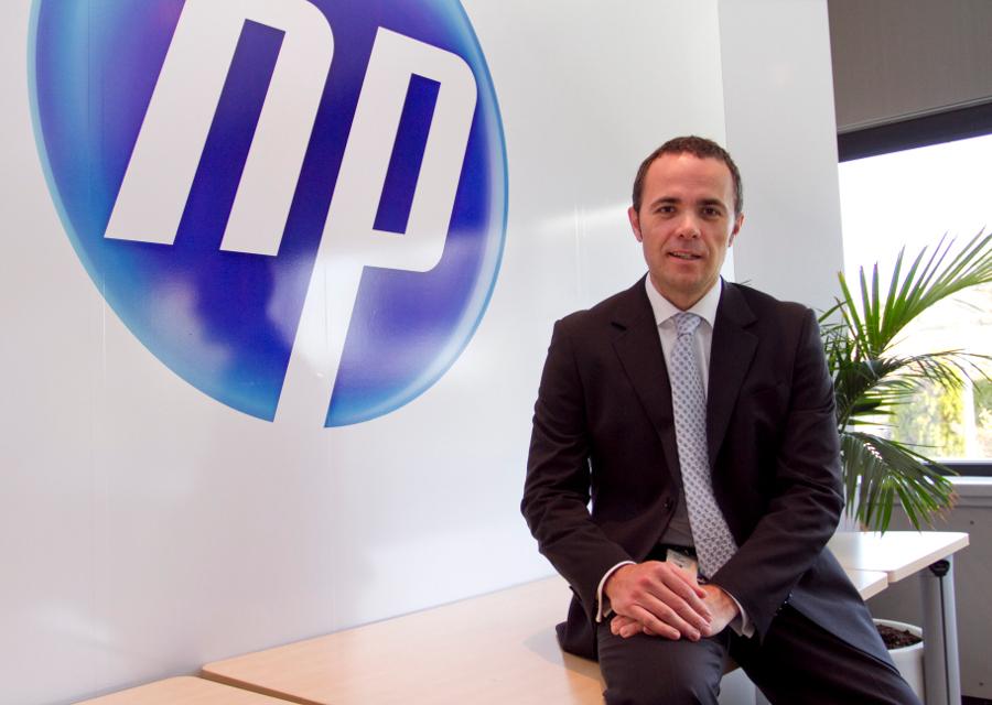 César Vallecillo, director de HP Networking para España y Portugal.