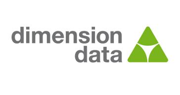 dimension, data, logo