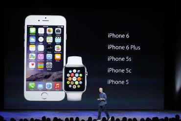 iPhone 6 y Watch de Apple