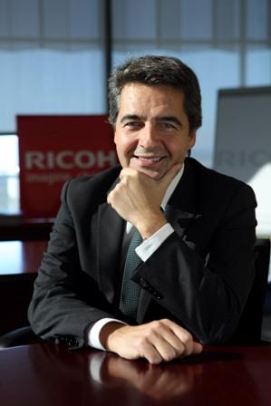Ramón Martín, director general y COO de Ricoh España