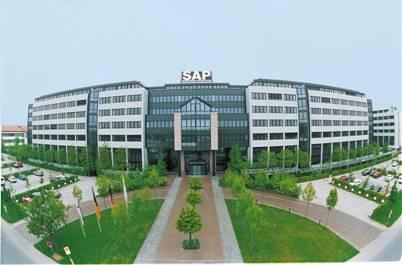 Sede central de SAP en Alemania.