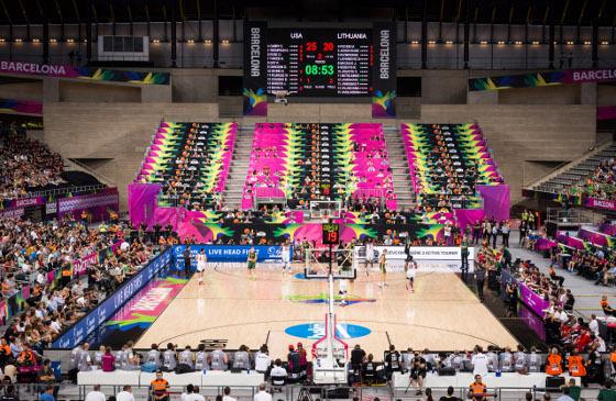 bcSistemas dotó de acceso a Internet al Palau San Jordi en Mundobasket 2014