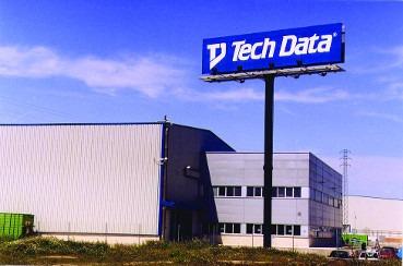 Centro logístico de Tech Data en España.