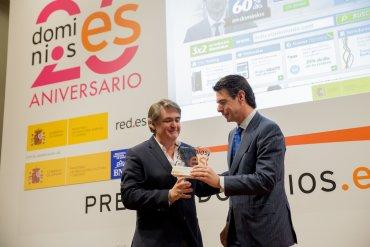 Entrega premio Red.es Arsys