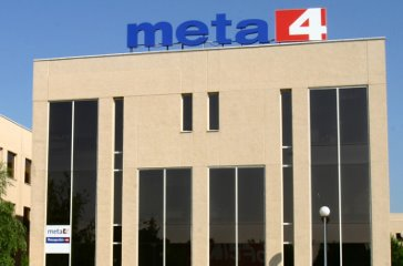 Edificio de Meta4 en Madrid.