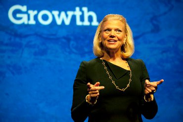 Gini Rometty, de IBM.