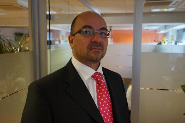 Robert Assink, director general de Interxion España.