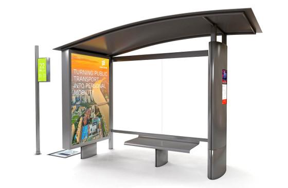 Ericsson presenta la parada de autobús conectada