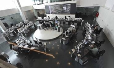 Sala de respuesta del 112 en Mérida