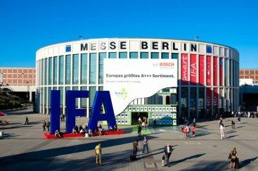 Entrada principal del IFA de Berlín.