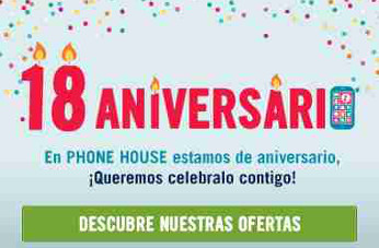 Phone House celebra su mayoría de edad en España con ofertas y descuentos