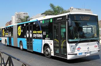 Málaga implementa con Orange servicios NFC en sus transportes