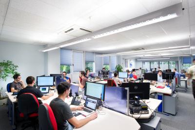 Oficinas de Sarenet.